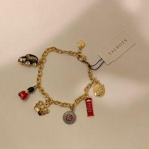 Talbots charm bracelet